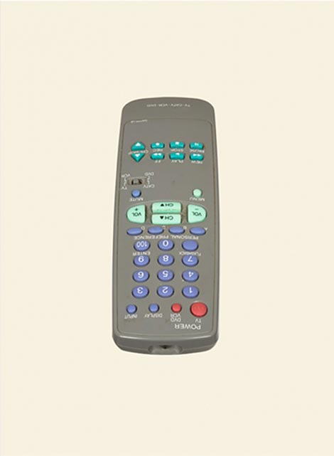 Andy mattern tv remote control thumb